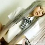 【JK動画】ルーズソックス+ミニスカ制服+黒ギャル=勢い余って中出しwww