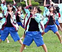 ダンス_JK_胸チラ動画02