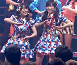 さんま珠緒_AKB48_テレビキャプチャ01