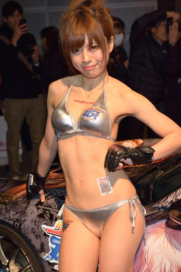 東京オートサロン2014_キャンギャル:xvideos&FC2エロ動画-画動-17