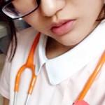 【素人自撮り画像】看護の専門学生21歳♀がTwitter裏垢で顔出しと美巨乳おっぱい撮りうp