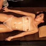 【偽エステ動画】全身が性感帯!?少し触れただけで過呼吸寸前になる人妻の声だけで抜けるwww