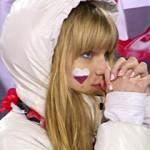 【テレビキャプ画像】ソチオリンピックも閉会式…現地に応援来てた可愛い子のキャプ画像まとめ
