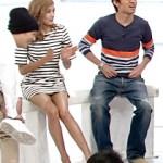 【テレビキャプ画像】笑っていいともに出演中のローラ(佐藤えり)の生脚がエロいと話題www