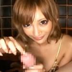 【明日花キララAV動画】Gカップおっぱいを無駄にぷるぷる揺らして見つめながら手コキ&着衣セックスwww