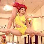 【動画アリ】4月14日放送『ごきげんブランニュ』でポールダンサーが股開脚…うっすら染みがww