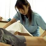 【有村千佳動画】勃起の『ビクンビクン』が気になる美人で可愛い介護士…我慢出来ず患者に激しい騎乗位w