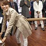 【動画アリ】6月5日放送『男気ジャンケン』で本田朋子アナが四つん這い立ちバックポーズでイキ顔ww