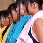 【女子陸上動画】汗臭い日焼けした陸上部(18歳)の女子校生を並べて順番に犯していくコーチがマジキチw