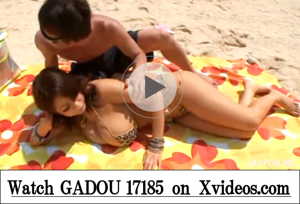 【xvideosAV動画】ワンピースの女キャラみたいなLカップ爆乳ギャル(桜木莉愛)と野外ビーチセックスw
