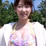 【動画アリ】AKB48柏木由紀がビキニ水着でハワイ一人旅!ハミ尻エロいGIFアニメwww