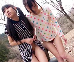 【藤咲リオナAV動画】ド田舎のパイパンJSに野外フェラ強要…そのまま温泉宿で乱交したヤバイ動画…