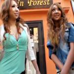【木下若菜AV動画】街角でナンパした派手ギャル2人を時間かけて交渉…ホテルで生挿入出来るビッチww